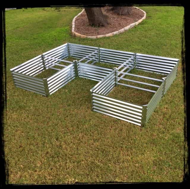 U-Shaped Garden Beds